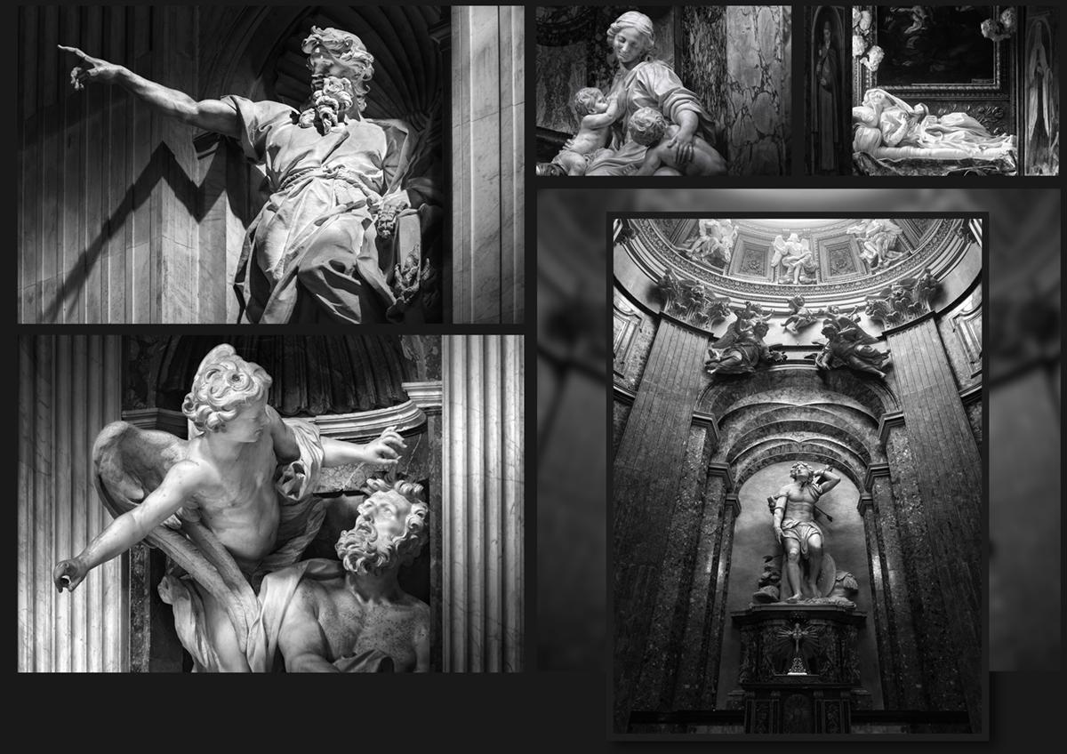 christian basetti fotografia dettagli statue architettura palazzi storici