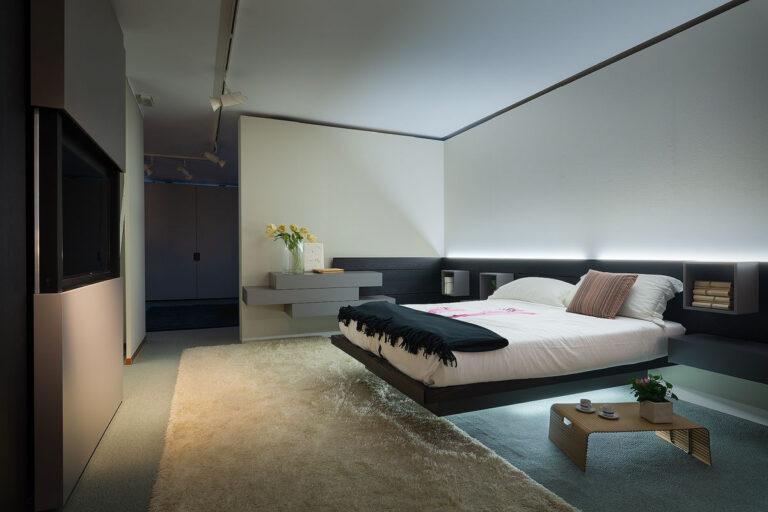 christian basetti fotografia arredamenti interni camera letto legnano